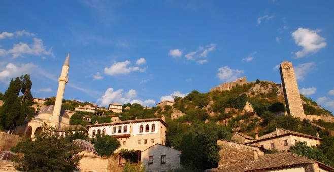"""Pocitelj, visitare la """"città di pietra"""" dell'Erzegovina"""