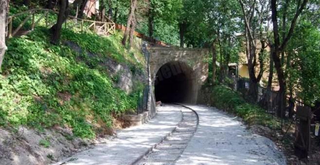 San Marino: il vecchio percorso della ferrovia