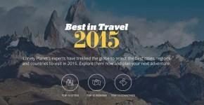 30 mete del 2015 da non perdere per Lonely Planet