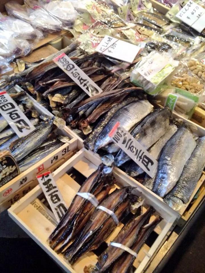 kyoto-NishikiMarket-pesce