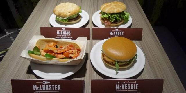 I panini Expo di McDonald's Italia