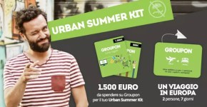 Restate in città, il contest dell'estate di Groupon