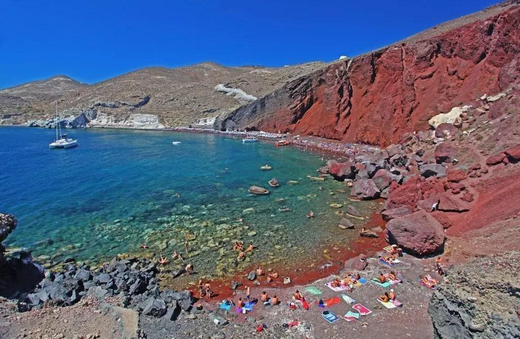 santorini-spiaggia-rossa