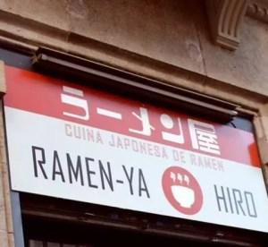 Ramen Ya-Hiro giapponese a Barcellona, recensione