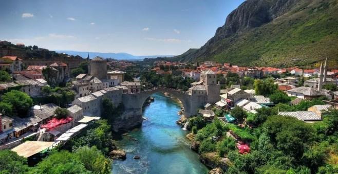 Mostar il simbolo della Bosnia Erzegovina