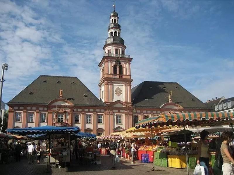 mannheim Markplatz