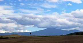Itinerari lungo la via Francigena in Val d'Orcia