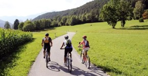 La Ciclabile S. Candido-Lienz in Alto Adige