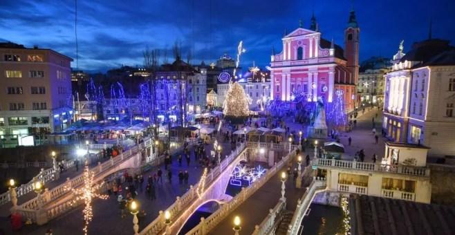 I mercatini di Natale di Lubiana