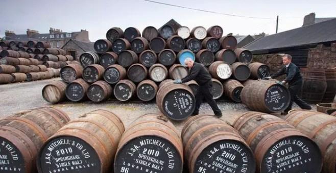 Il tour delle distillerie di Whisky in Scozia