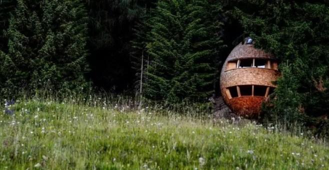 Malga Priu, soggiorno da favola nella casa sull'albero