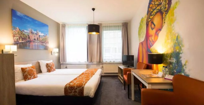 Teleport Hotel, dormire ad Amsterdam low cost
