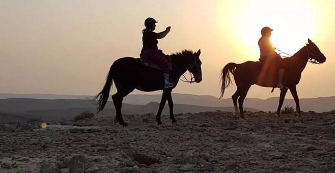 Passeggiata a cavallo nel Deserto del Negev