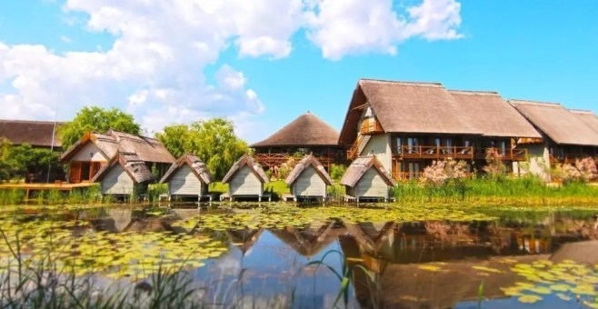 Green Village, resort green sul delta del Danubio in Romania