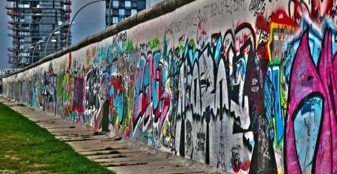 Berlino attraverso il muro, itinerario