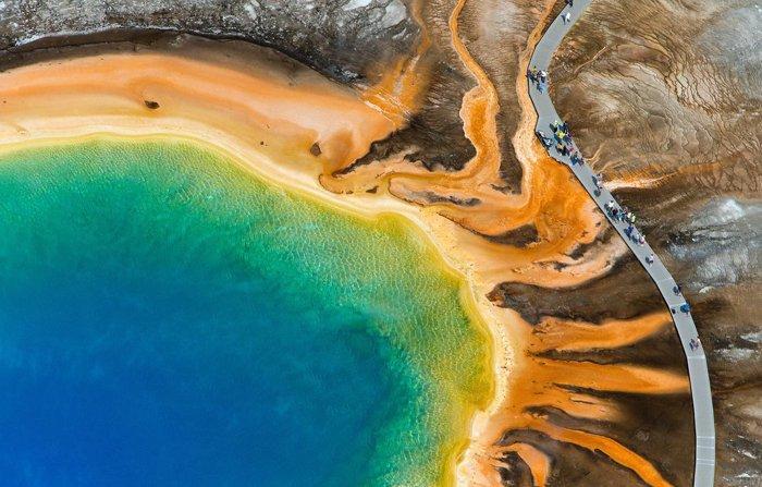 Grand Prismatic Spring (Stati Uniti d'America) - Luoghi più belli del mondo