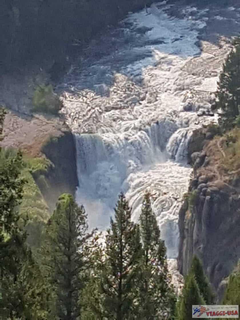 Mesa Falls Idaho come visitare Upper Lower Falls e