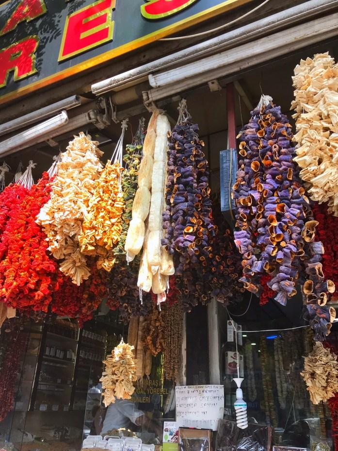 collane di verdura turche