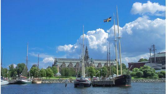 A Stoccolma in estate ogni cosa è illuminata.