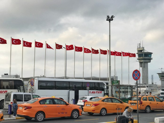 taxi ad istanbul