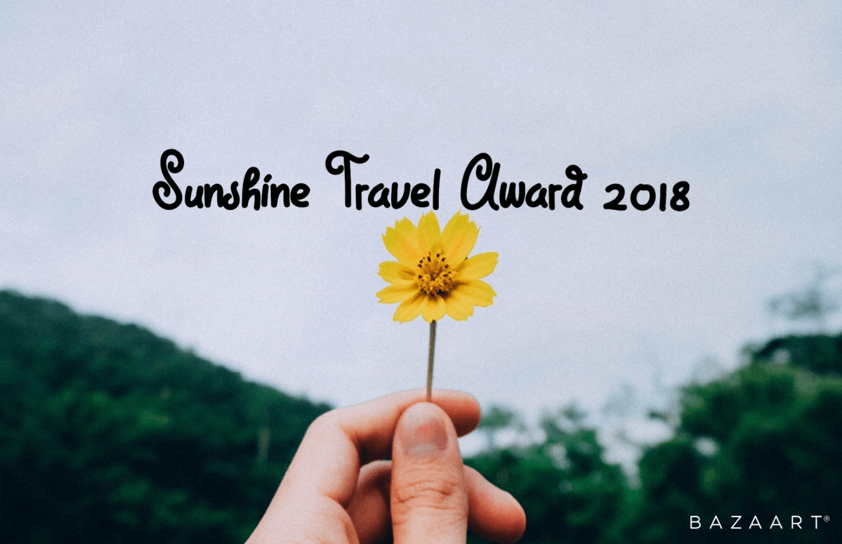 Sunshine Travel Award 2018