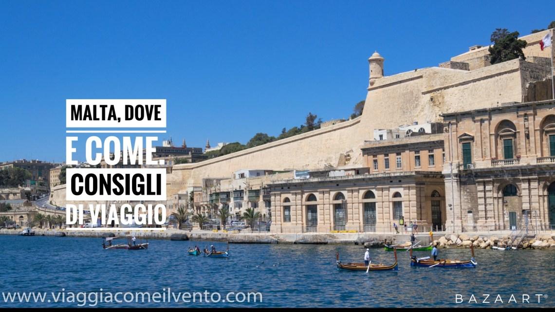 Malta: come organizzare il viaggio