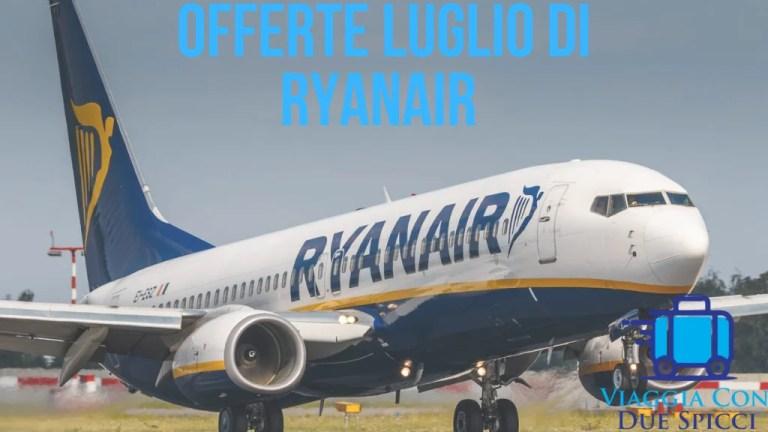 Offerta di Luglio con Ryanair