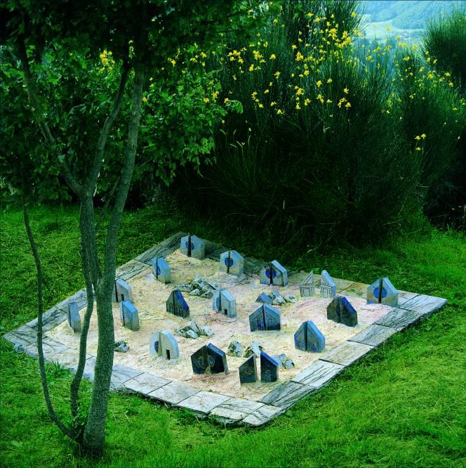 il giardino pietrificato di tonino guerra vicino a pennabilli