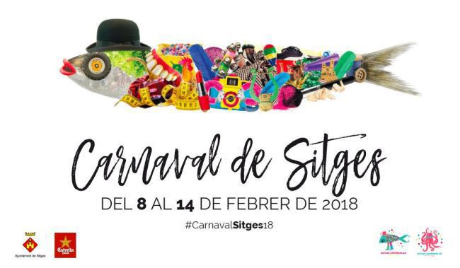 locandina carnevale di Sitges 2018