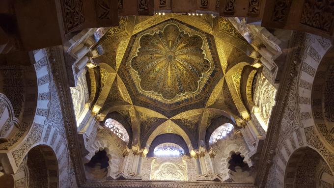 cordoba soffitto moschea cattedrale