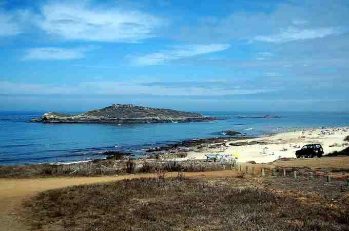 spiagge del portogallo Ilha do passegueiro