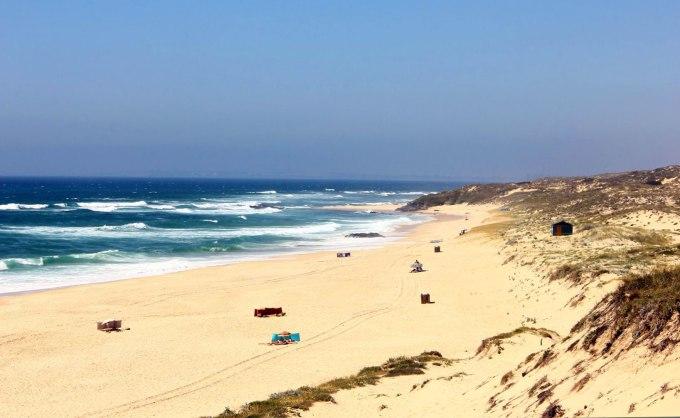 spiagge del portogallo malhao