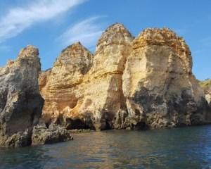 rocce costa algarve