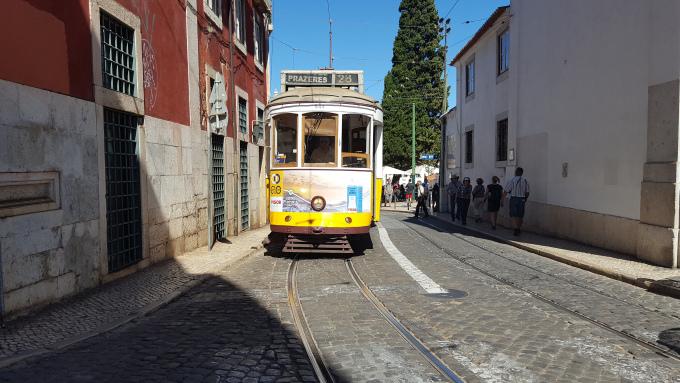 lisbona tram