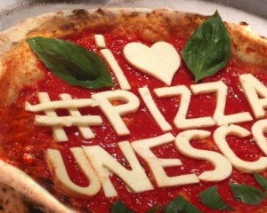 I love pizza unesco