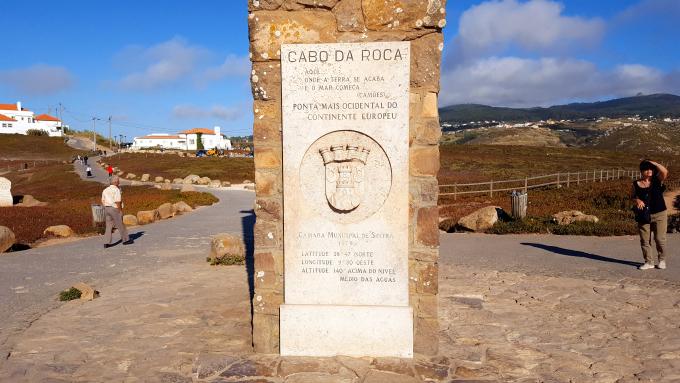 cabo da roca targa commemorativa