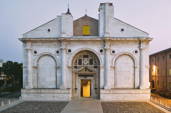 il tempio malatestiano conosciuto come duomo di rimini
