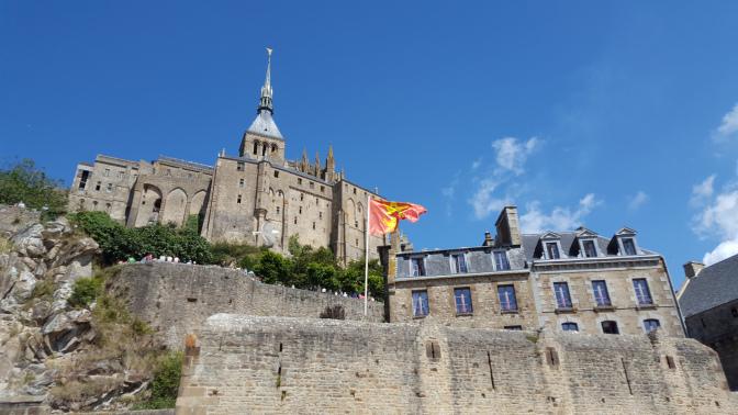 centro storico mont saint michel