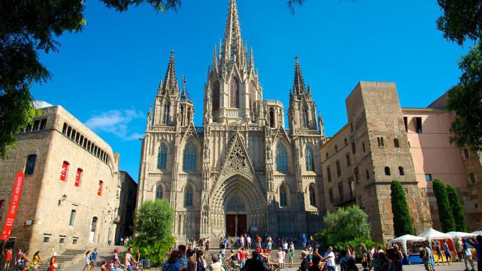 la cattedrale di barcelona