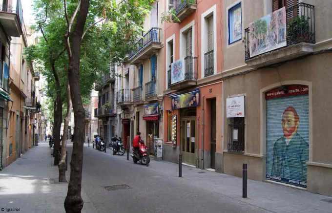 barcelona quartiere gracia