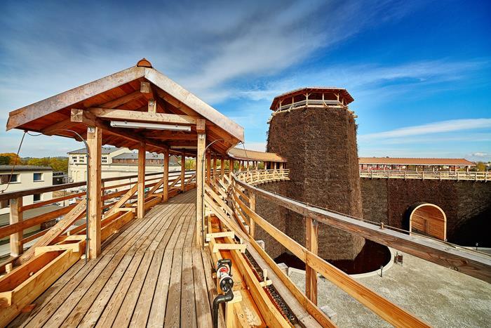 la torre di gradazione della miniera di sale di wieliczka vicino a cracovia in polonia