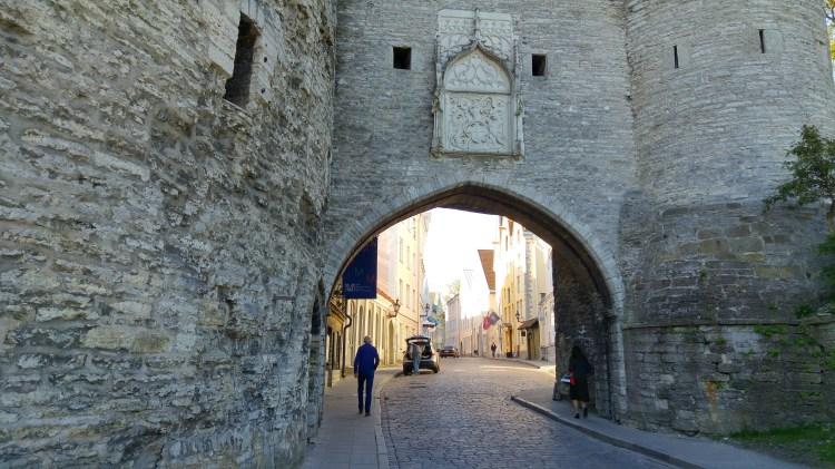 una delle porte di ingresso alla old town di tallinn