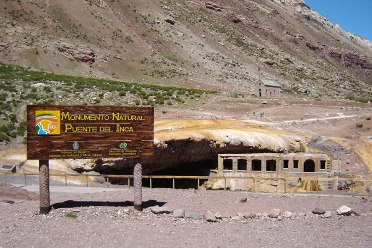 puente del inca vicino a mendoza