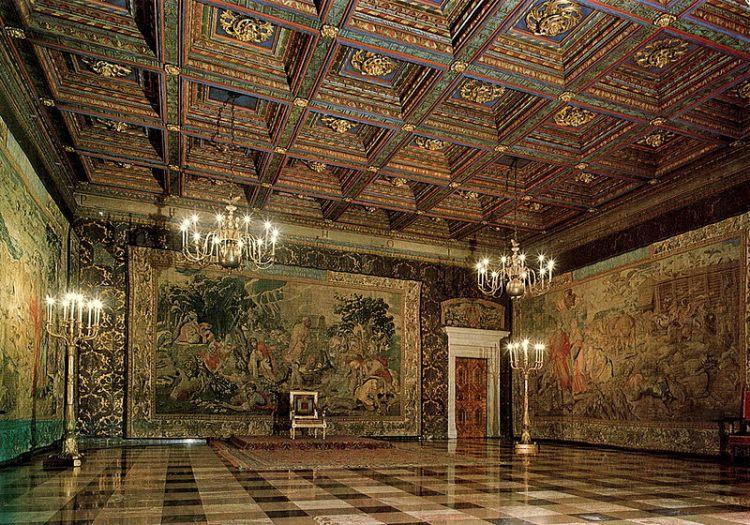 sala dei senatori castello collina del wawel