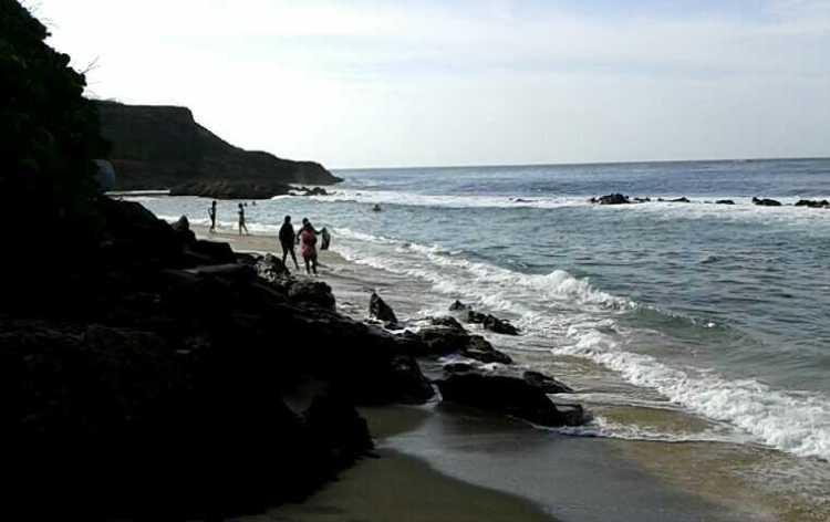 spiaggia vicino al capitolio di san juan de porto rico
