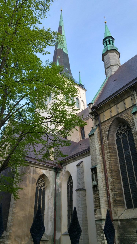la olav's cathedral di tallinn in estonia