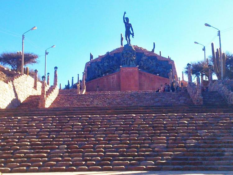 scalinata a humahuaca provincia di jujuy
