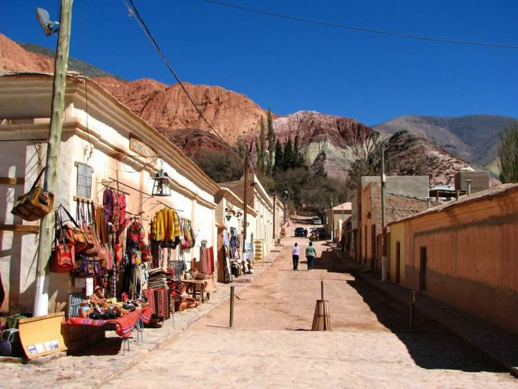 purmamarca provincia di jujuy