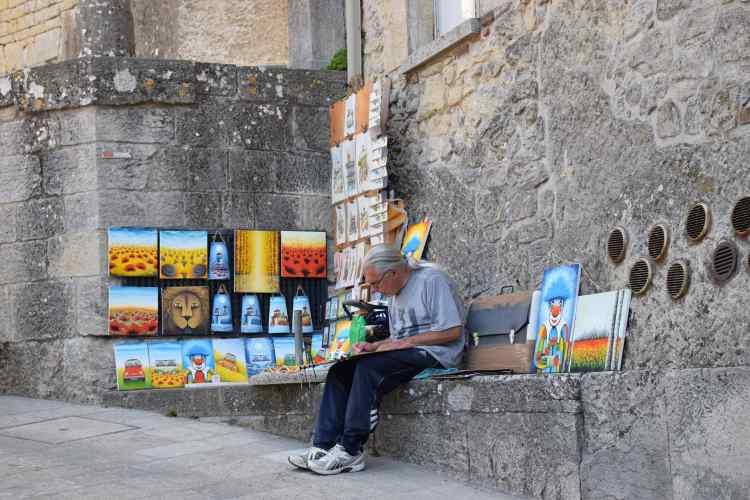 artista di strada città di san marino
