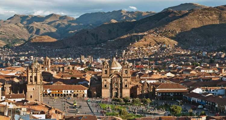 panoramica di cuzco